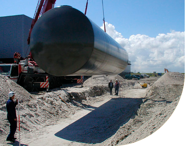 Reehorst-tanks-installatie
